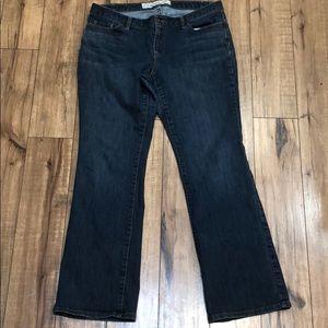 Ann Taylor LOFT curvy jeans
